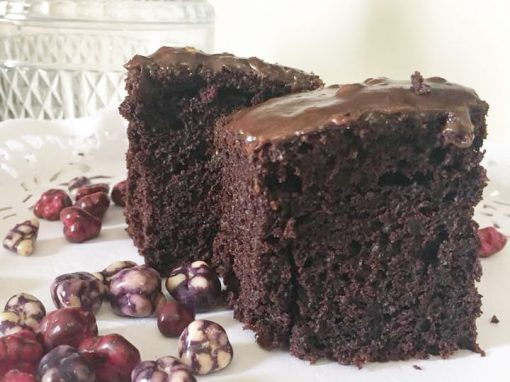 High Chocolate Cake